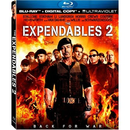 The Expendables 2  Blu Ray   With Instawatch   Widescreen