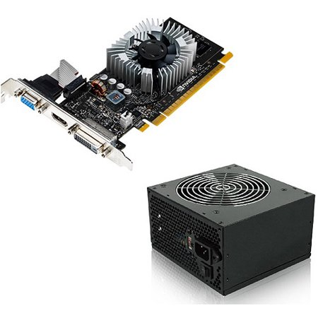 NVIDIA GeForce GT 720 1GB GDDR3 Graphics Card + 350W Power Supply, Bundle  Only