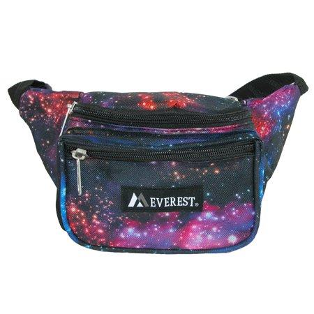 Everest P044KD-GALAXY Signature Pattern Waist Pack, Galaxy - image 3 de 3