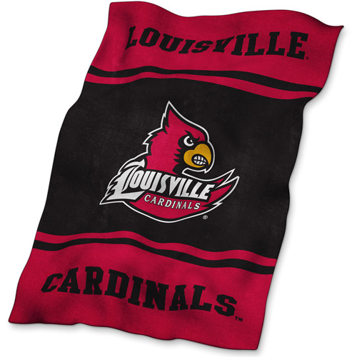 Logo Chair NCAA Louisville UltraSoft Blanket