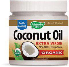 Organic Coconut Oil Nature's Way 32 oz Liquid