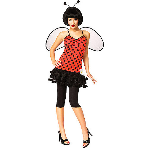 Love Bug Lady Bug Adult Halloween Costume
