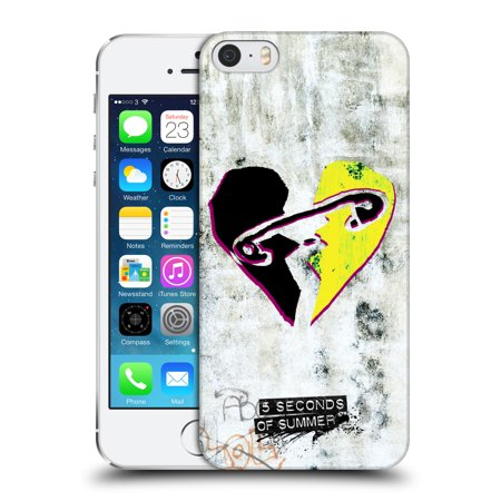 OFFICIAL 5 SECONDS OF SUMMER GRAFFITI HARD BACK CASE FOR APPLE IPHONE PHONES