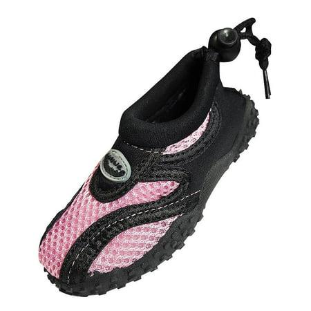 The Wave - Childrens Aqua Shoe Pink / 4 M US Big covid 19 (Keds Childrens Shoes coronavirus)
