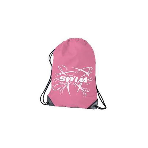 1Line Sports DSWMPI Drawstring Bags Swim Cap in Pink