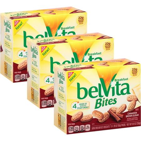 Cinnamon Sugar Tortilla (Belvita Breakfast Bites, Cinnamon Brown Sugar (Pack of)