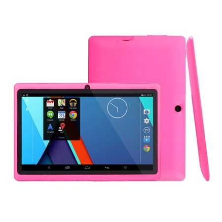 """Kids Safe 7"""" Quad-Core Tablet 512M+8GB WIFI MID Dual Cameras Kid-Proof Case with US Plug (Pink) - image 1 of 5"""