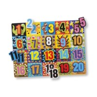 Chunky Puzzles: Jumbo Numbers Chunky Puzzle (Other)