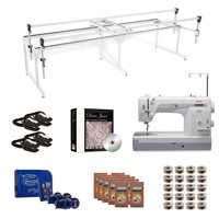 Janome 1600P-QC Grace Q-Zone Queen with Sure Stitch Machine Quilting Combo 3