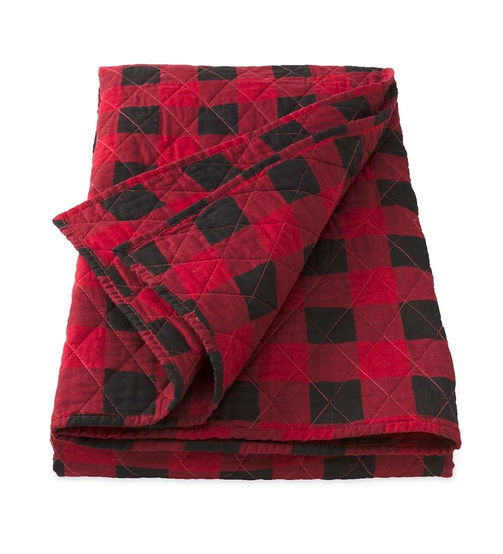 Buffalo Plaid Throw Blanket Walmart Com