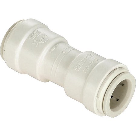 Easy Fit Coupling - Watt P-600 Quick Connect Coupling Union, 1/2 in, Push Fit, 250 psi at 75 deg F, 100 psi at 180 deg F