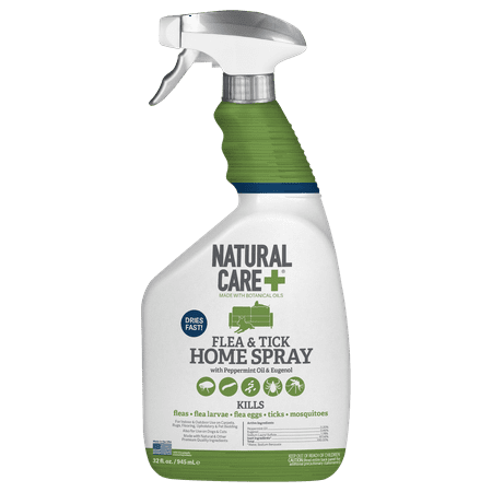 Natural Care Flea and Tick Home Spray, 32 oz.