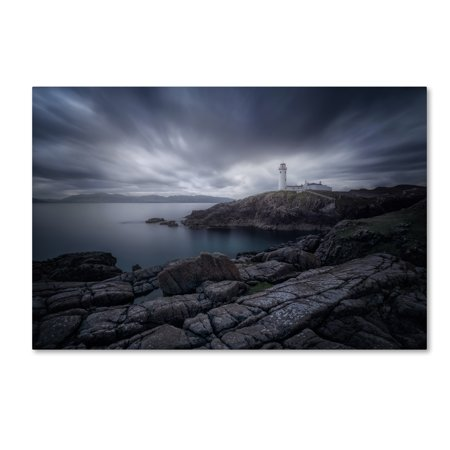 Trademark Fine Art 'Lighthouse In Blue' Canvas Art by Ivan Ferrero