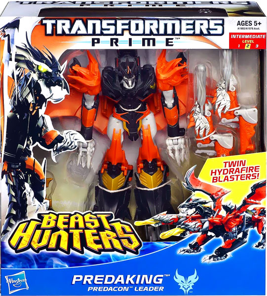 Transformers Prime Beast Hunters Predaking Voyager Action Figure