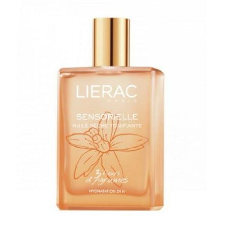 Lierac Sensorielle Fresh Toning Mist, 3 Citrus Flowers, 3.4 Oz + Makeup Blender Stick, 12 Pcs