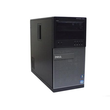 Refurbished Dell Optiplex 7010 Intel Core i7-3370 3.40GHz  8GB DDR3 RAM, 256 GB SSD, Windows 7 Professional ()