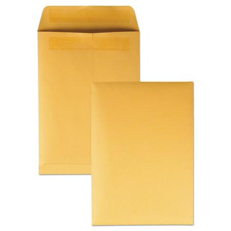 - Quality Park Redi Seal Catalog Envelope, 7 1/2 x 10 1/2, Brown Kraft, 250/Box -QUA43462