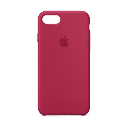 pretty nice adc7f bcbe0 Apple Silicone Case for iPhone 8 & iPhone 7 - Rose Red