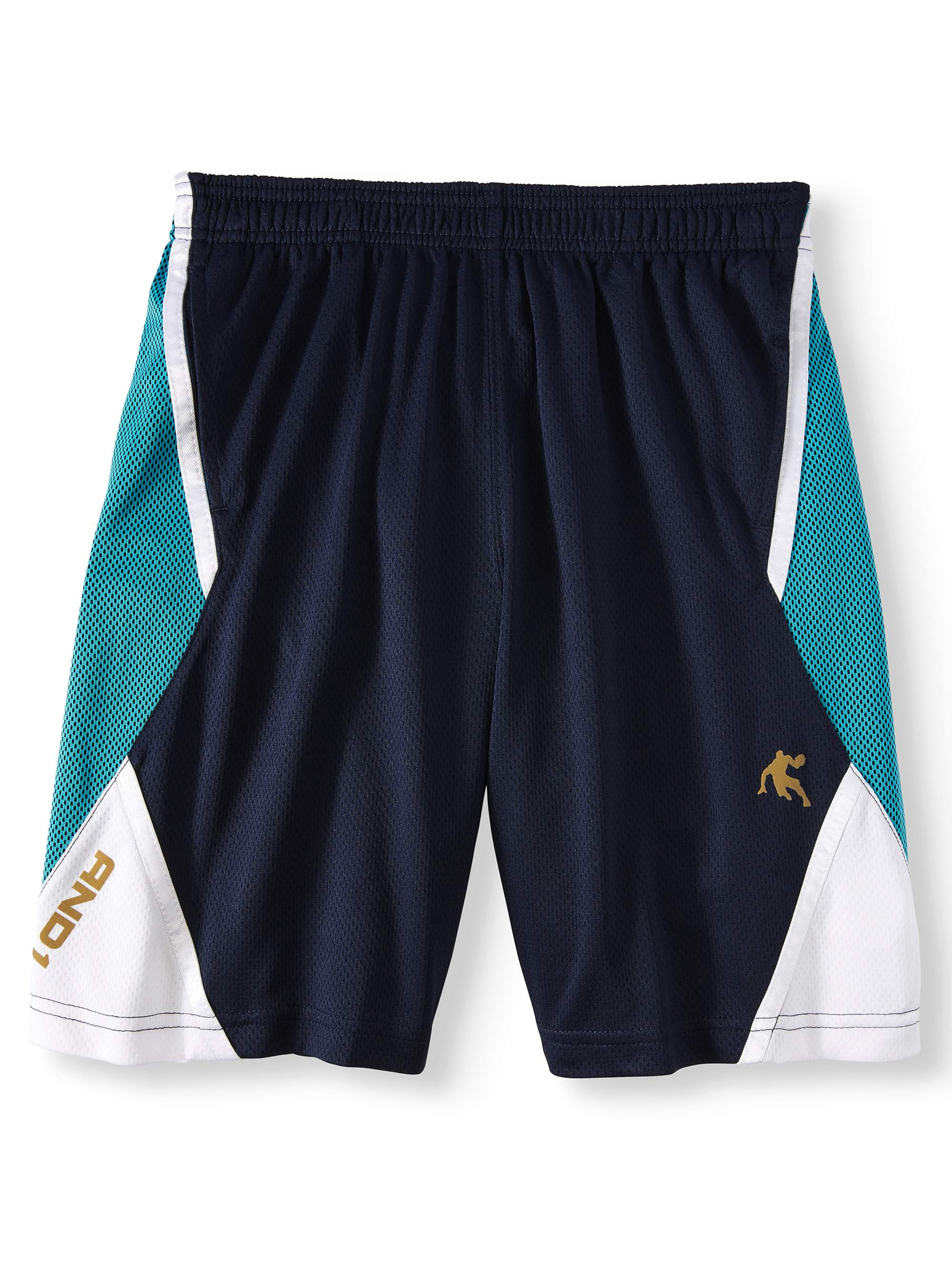 Polyester Mesh Layup Basketball Shorts with Pockets (Little Boys & Big Boys)