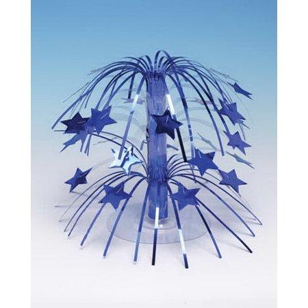 Creative Converting 261011 Centerpiece, Mini Cascade Stars, Blue (Case of 6)