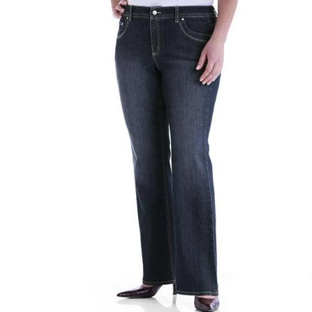 0f8a2de191550 Just My Size - Just My Size-Women s Plus-Size Tummy Control Modern Bootcut  Stretch Jeans - Walmart.com
