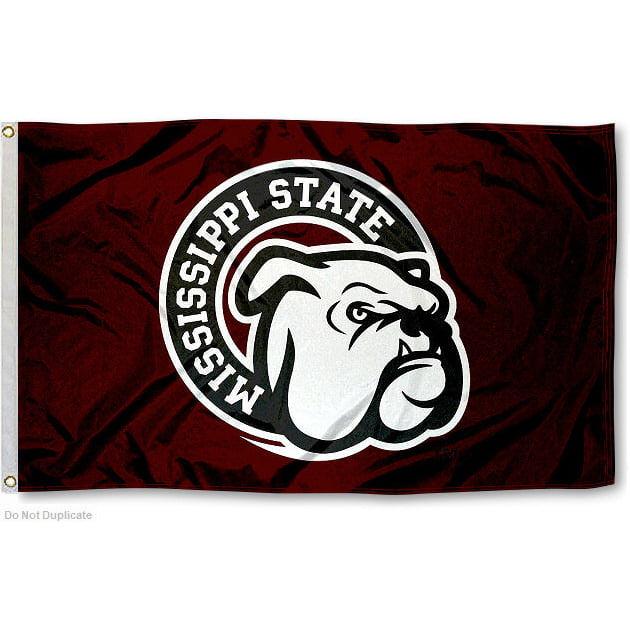 Mississippi State University Bulldogs Flag