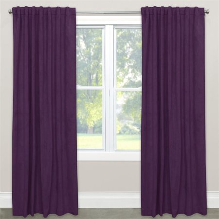 Skyline 120  Blackout Window Curtain Panel In Velvet Aubergine
