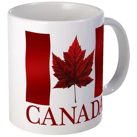 CafePress - Canada Flag Souvenirs Canadian Maple Leaf Gifts Mu - Unique Coffee Mug, Coffee Cup CafePress