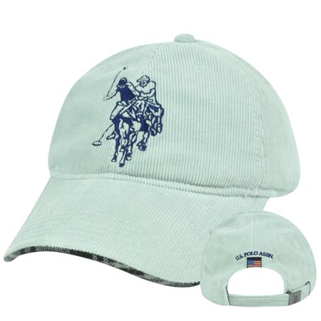 USPA Us Polo Assn Association Corduroy Garment Wash Clip Buckle Hat Cap  Plaid - Walmart.com e8d17f7a062
