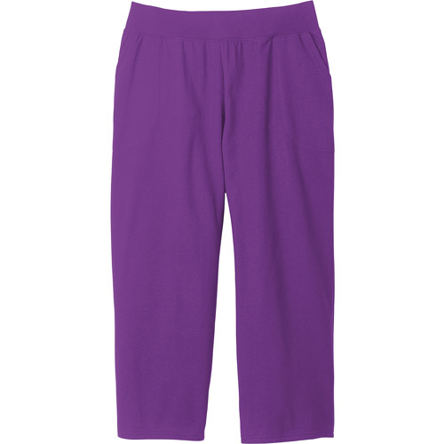 Women's Plus-Size Essential French Terry Capri Pants