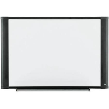 3M White Melamine Dry Erase Board, 36 x 24, Aluminum or Graphite Frame