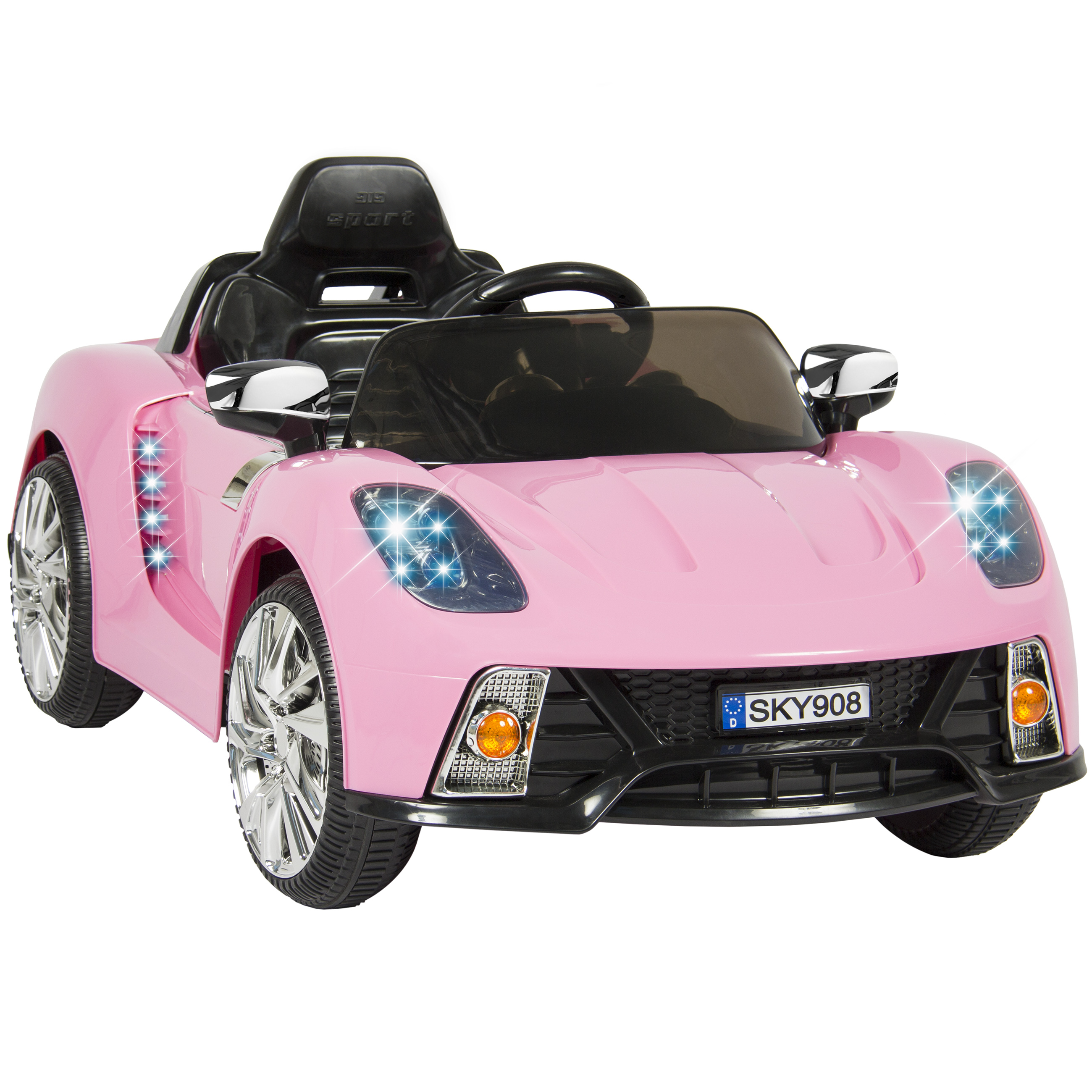 Kid Trax VW Beetle Convertible 12-Volt Battery Powered Ride-On ...