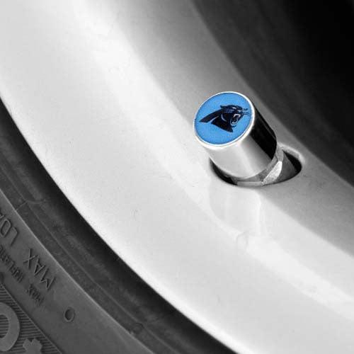 Carolina Panthers Valve Stem Covers - No Size