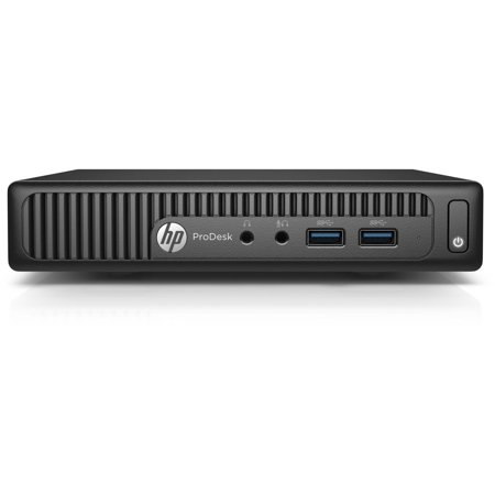 HP ProDesk 400 G2 P5U80UT Mini Desktop PC with Intel Core i5-6500T Processor, 4GB Memory, 500GB Hard Drive and Windows 7 Professional (Monitor Not Included)
