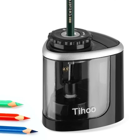 Electric Pencil Sharpener,EEEkit Electrical Automatic Sharpener for Pencils and Colored Pencils,Portable Electric Sharpener with Auto Stop Feature for Home/School/Classroom/Office,2AA