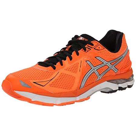 ASICS Men's GT 2000 3 Running Shoe, Hot OrangeSilverBlack, 8 M US