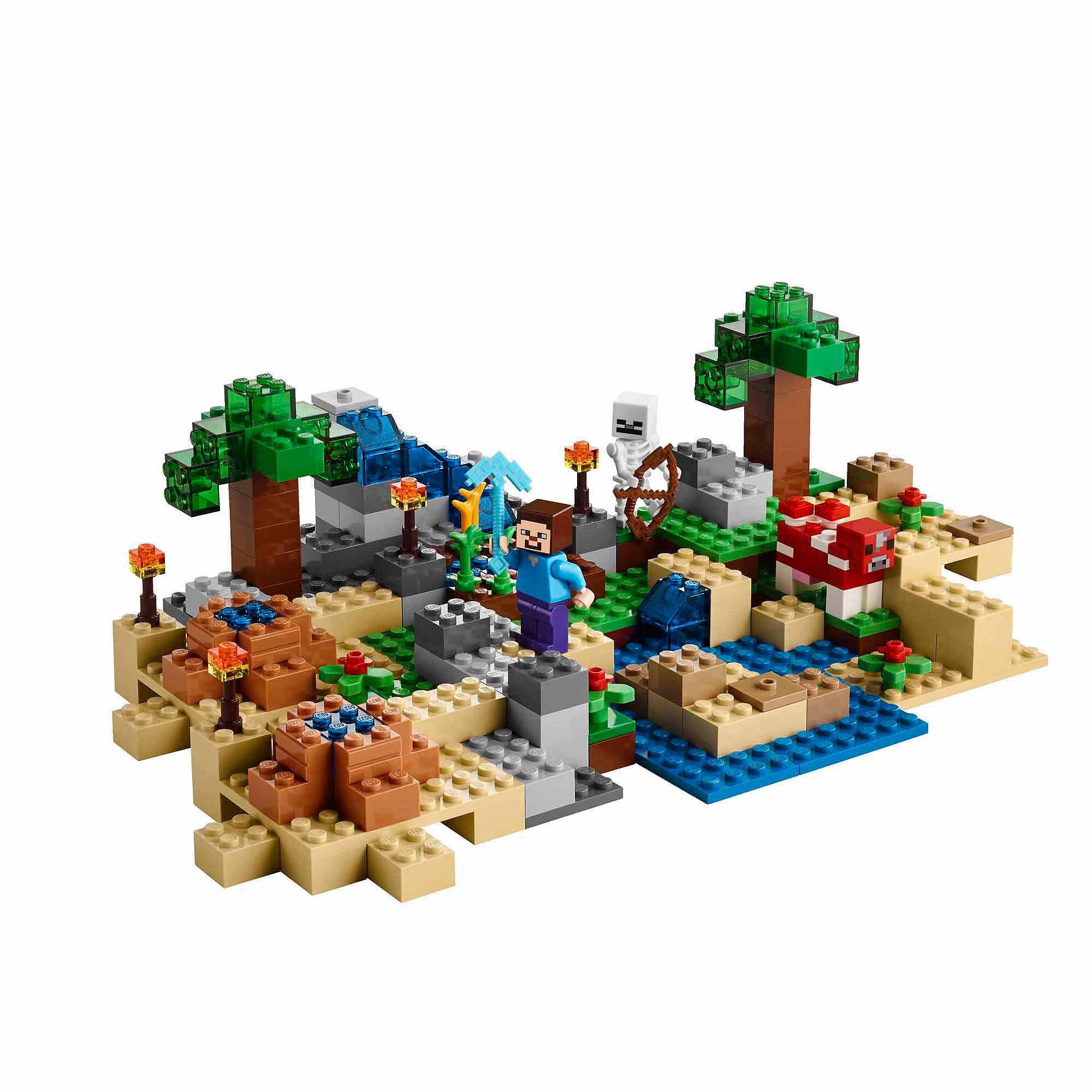 LEGO Minecraft Crafting Box - Walmart.com