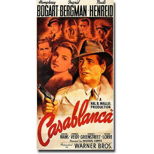 "Trademark Fine Art ""Casablanca"" Canvas Art"