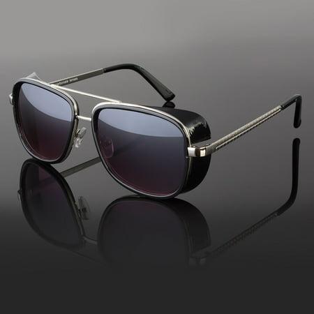 Iron Man Sunglasses color lens Robert Downey TONY STARK Personalized