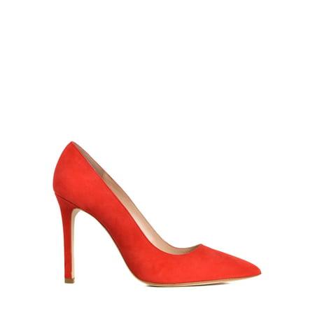 Manolo Blahnik Bags (Manolo Blahnik Womens BB Red Suede Pointed Toe)
