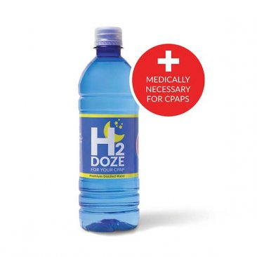 H2Doze Distilled Water for CPAP