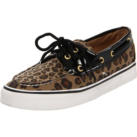 Sperry - Sperry Top-Sider Women s Biscayne Boat Shoes Leopard Black Patent  Size 10.0M - Walmart.com 0fb424876