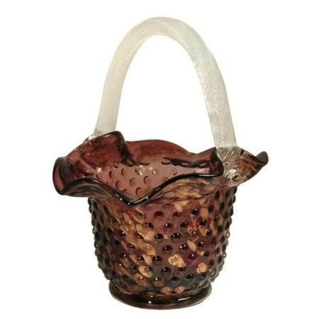 Tiffany Basket (Dale Tiffany Purple Basket )