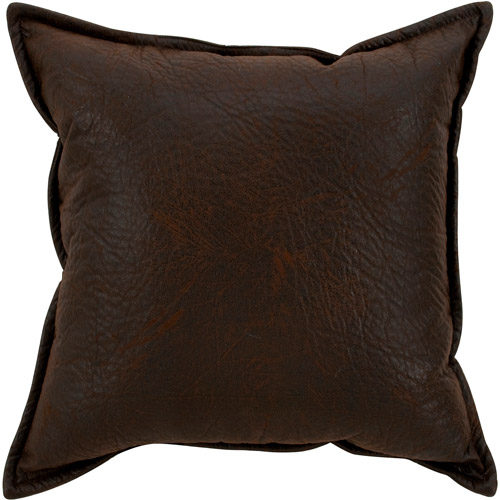 Better Homes And Gardens Faux Leather Pillow Walmart Com