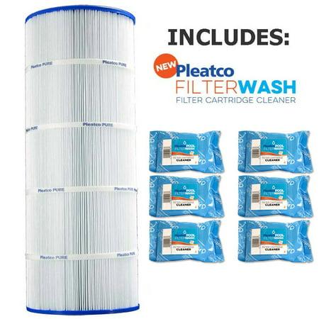 Pleatco Cartridge Filter PWWCT125 Waterway Clearwater II Pro-Clean 125 above ground pool cartridge 817-0125N  817-0125N w/ 6x Filter Wash (Above Ground Replacement Cartridge)