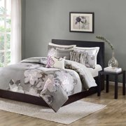 Home Essence Jasmine 200-Thread Count Printed Bedding Duvet Cover Set