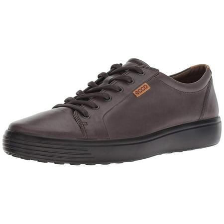 6047ab92 Ecco Men's Soft 7 Fashion Sneaker, Licorice, Size 15.0