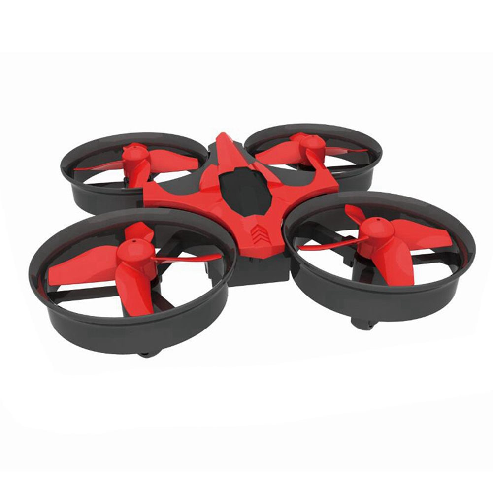 NIHUI NH010 Mini Drone 2.4G 6-Axis Gyro Headless Mode Remote Control Quadcopter (Red) - image 2 of 7
