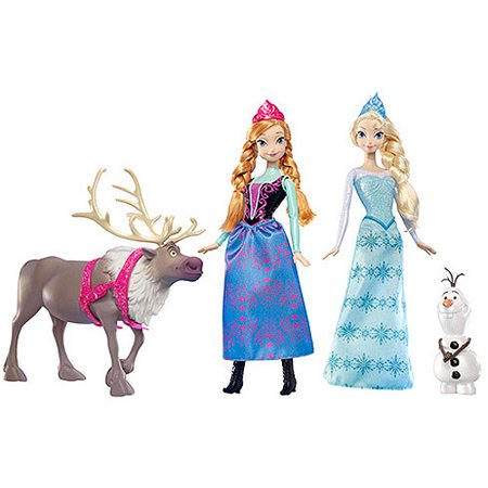 Disney Frozen Friends Collection Gift Set Walmart Com