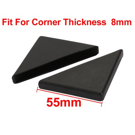 30pcs 55mmx55mm Plastic Table Desk Corner Guard Protector Fit for 8mm Thickness - image 1 of 4